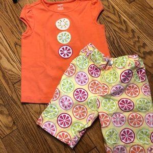 Gymboree outfit shorts and short sleeve shirt 5